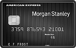 Picture of the American Express Morgan Stanley Credit Card front