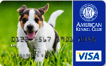 Picture of the American Kennel Club Visa Credit Card front