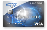 Picture of the Zions AmaZing Cash Back Credit Card front