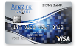 Picture of the Zions AmaZing Rewards Credit Card front