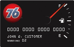 Picture of the 76 Personal Credit Card front