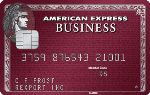 Picture of the American Express Plum Card Credit Card front