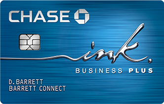 Picture of the Chase Ink Plus Business Credit Card front