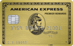Picture of the Amex Premier Rewards Gold Credit Card front