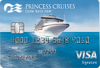 Picture of the Princess Cruises Rewards Visa Credit Card front