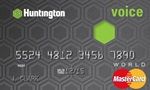 Picture of the Huntington Credit Card front