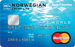 Picture of the Norwegian Cruise Line MasterCard Credit Card front