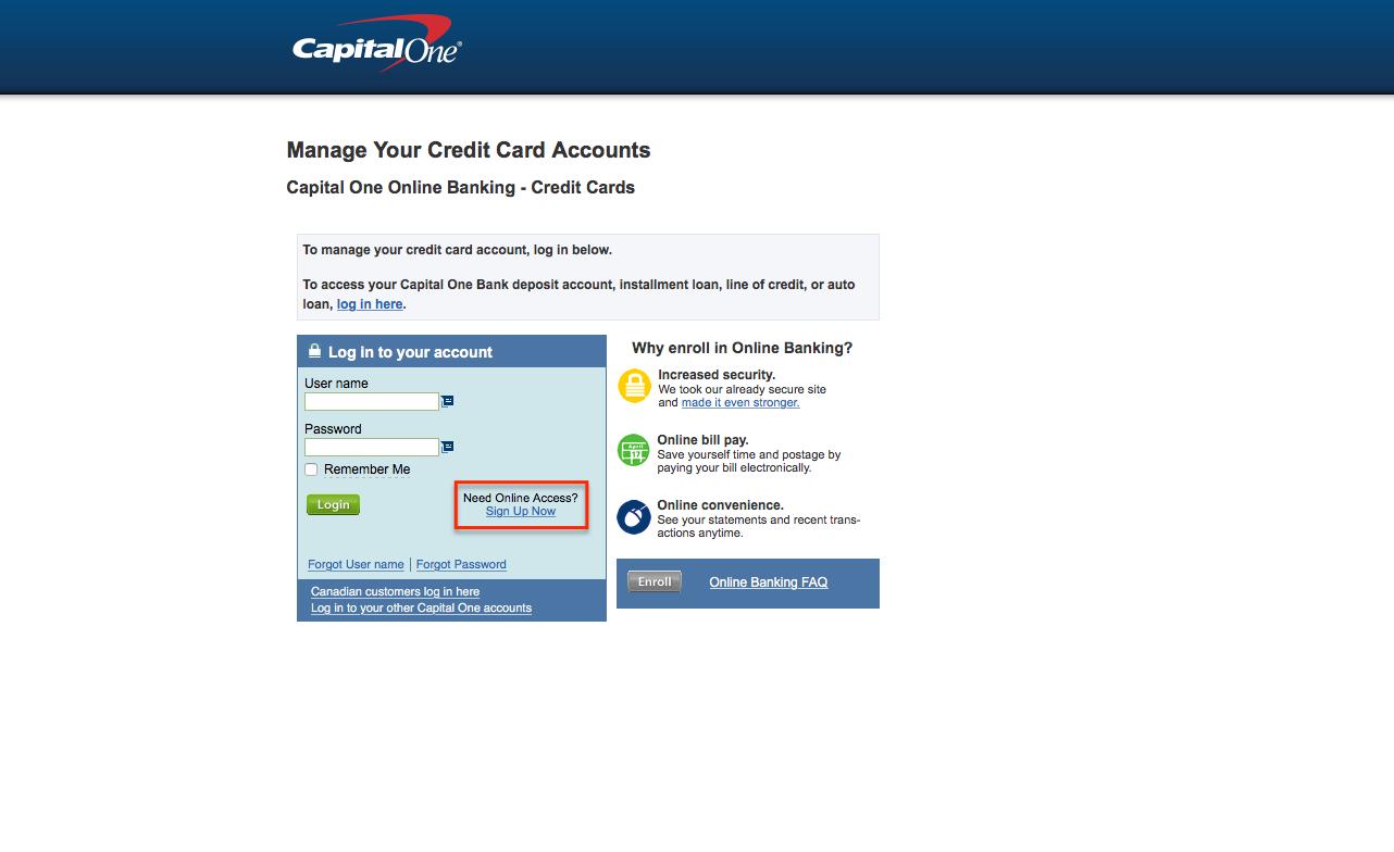 capital one venture credit card login make a payment creditspot. Black Bedroom Furniture Sets. Home Design Ideas