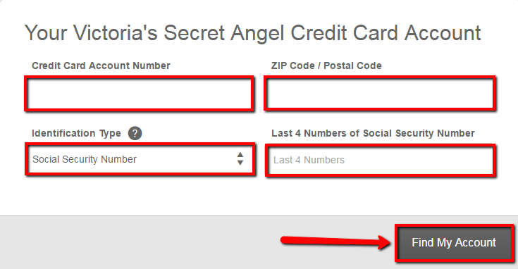 Victoria S Secret Angel Credit Card Login Make A Payment