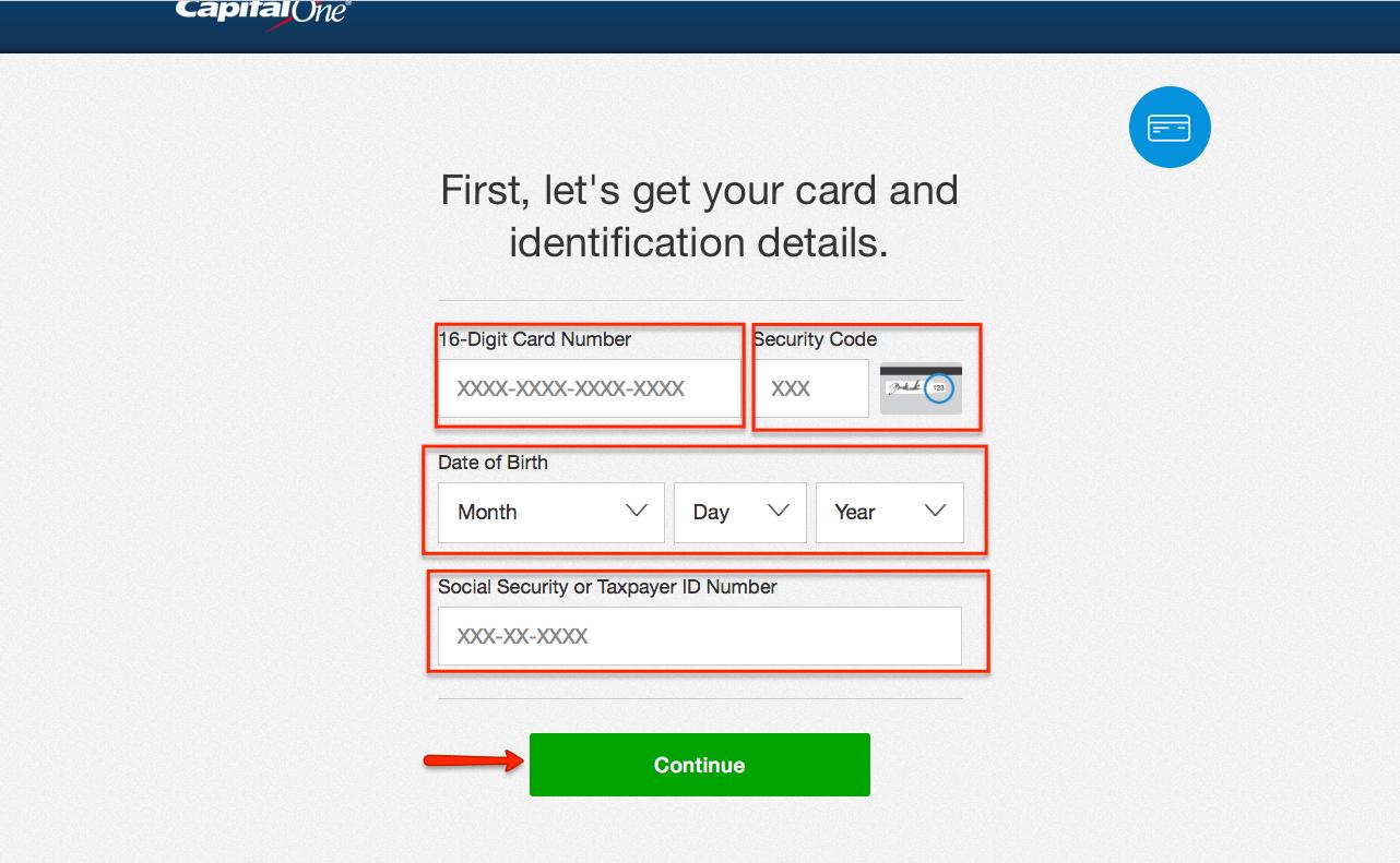 Capital One Credit Card Online Payment Login >> Capital One Quicksilver Credit Card Login | Make a Payment - CreditSpot