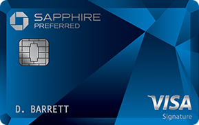 Picture of the Chase Sapphire Preferred Card front