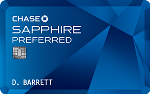 Picture of the Chase Sapphire Preferred Credit Card front