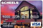 Picture of the Scheels Visa Credit Card front