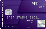 Picture of the Starwood Preferred Amex Credit Card front