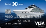 Picture of the Celebrity Cruises Visa Credit Card front
