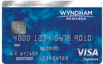 Picture of the Wyndham Rewards Visa Credit Card front